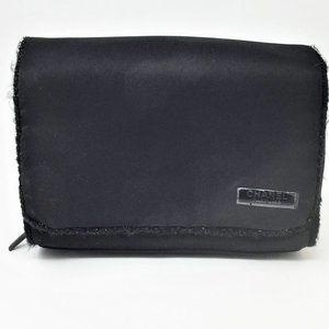 CHANEL Parfums Black Cosmetic Makeup Travel Bag
